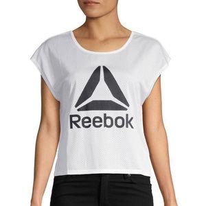 Reebok Women's Mesh Crop Top Size S